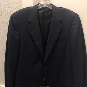 Canali Men's Tessuto Blue Suit Jacket NWT